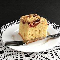 Niedziela na słodko: Ucierane ciasto na oleju ze śliwkami i kruszonką