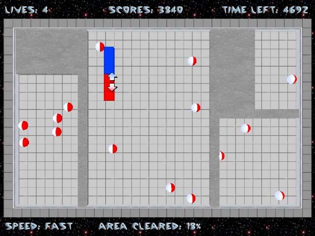 Jezzball Free PC Game Screenshot