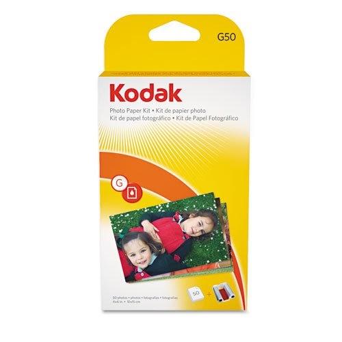 """50 Sheets Kodak G600//G610 Printer Photo Paper 4/""""x6/"""""""