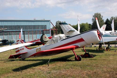Yakovlev Yak-50 02 yellow