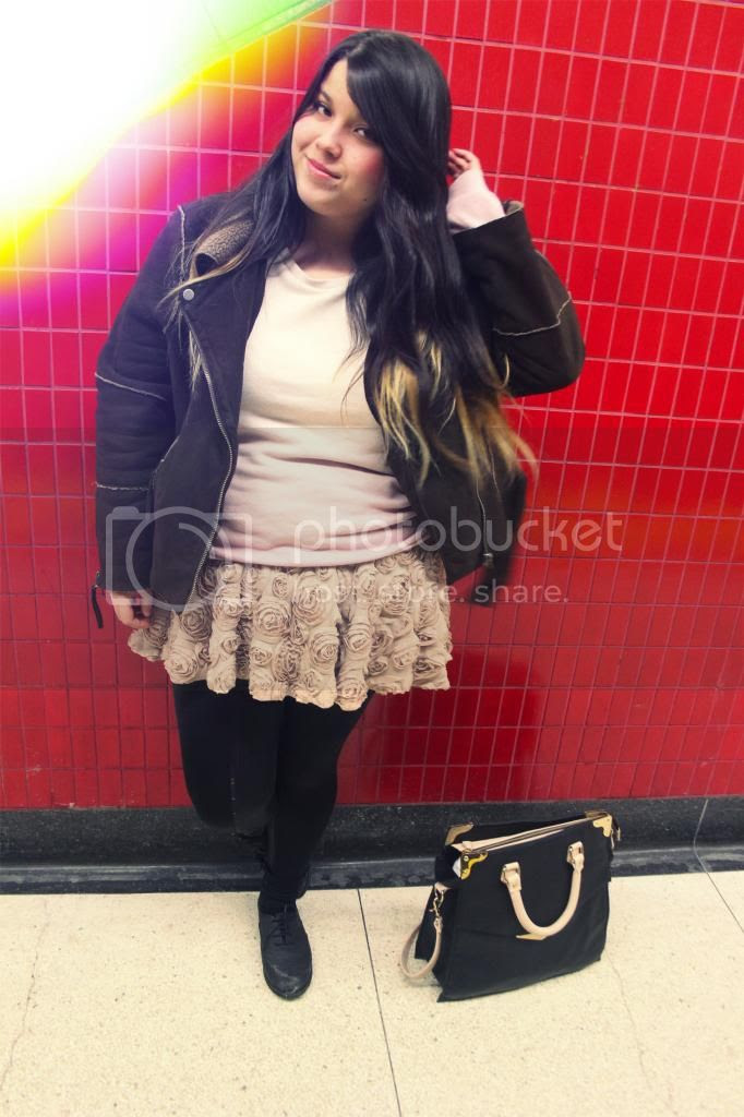 Plus size fashion, clothes and shit, Jessica Ip, Plus Size Blogger, Toronto, Toronto Fashion, canada Plus Size Fashion, Textured skirt, Plus size 3d flower skirt, plus size flower skirt, plus size 3d skirt, plus size forever21