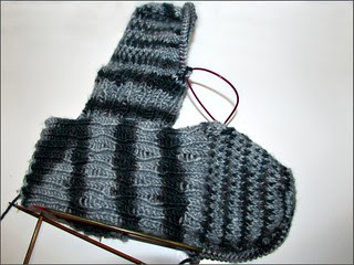 Carbonized Zombie Socks, as of 12/3/13