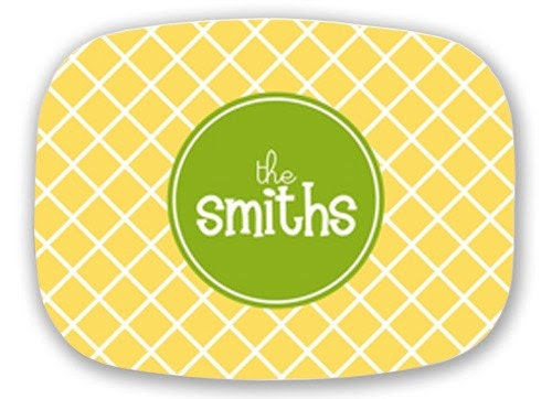 Customize a Personalized Melamine Platter