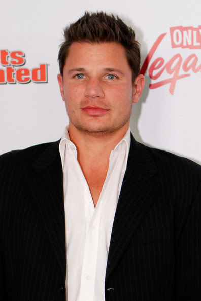 Nick Lachey Nick Lachey arrives at Club SI Swimsuit hosted by Vanity at Vanity Nightclub at The Hard Rock Hotel and Casino on February 17, 2011 in Las Vegas, Nevada.