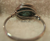 Wire Wrapped Bird Nest Ring