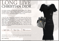 Long Live Christian Dior at Yoox.com