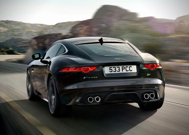 2015 Jaguar F-Type R Coupe 3