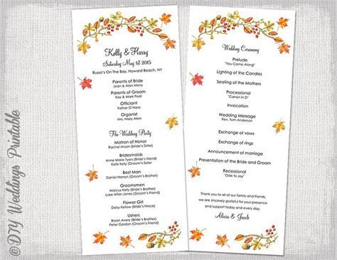 order of service wedding template civil ceremony   Google