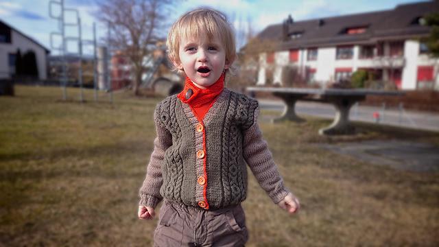 chandail tricoté enfant