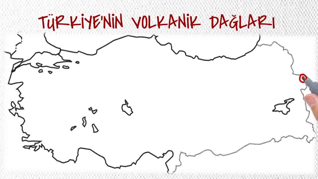 Türkiyenin Volkanik Dağları Izle Video Eğitim Bilişim Ağı
