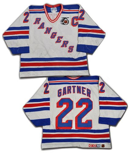 New York Rangers 91-92 jersey