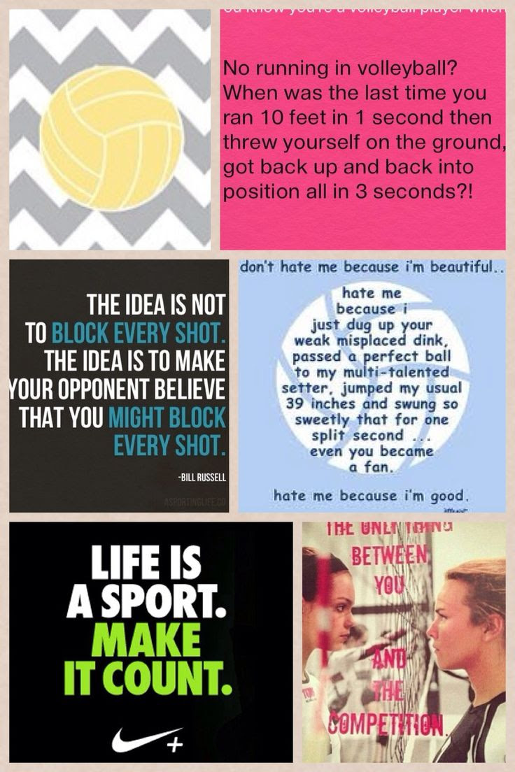 Volleyball Sport Quotes. QuotesGram