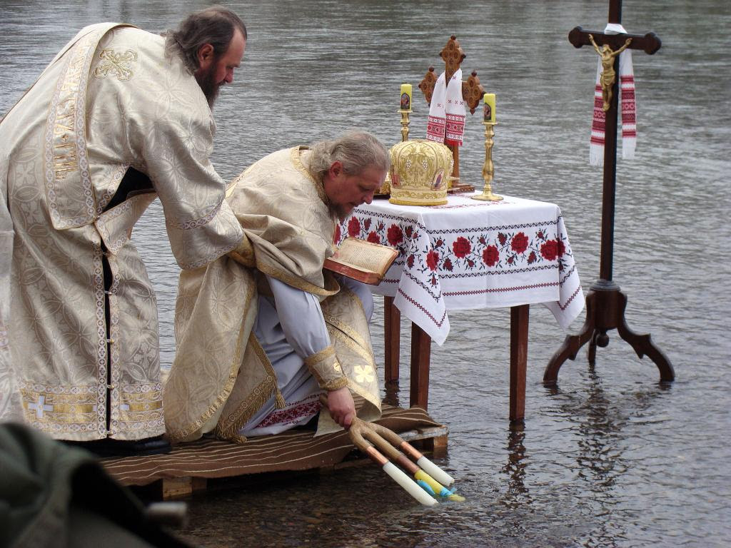 1 Sanok, Blessing of the holy water at San River