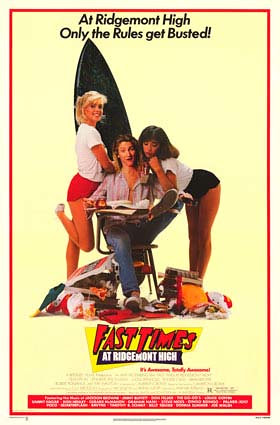 Fast Times Movie Poster