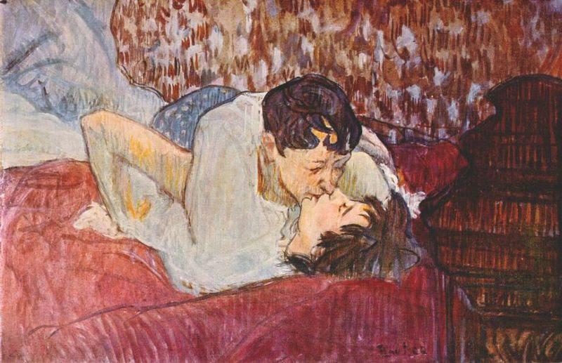 File:Lautrec the kiss 1892.jpg