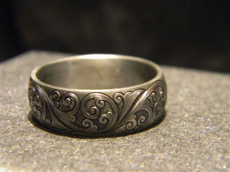 1000  images about Custom Engraved Titanium Rings on