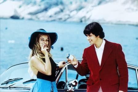 Cleo Pires e Danton Mello no filme