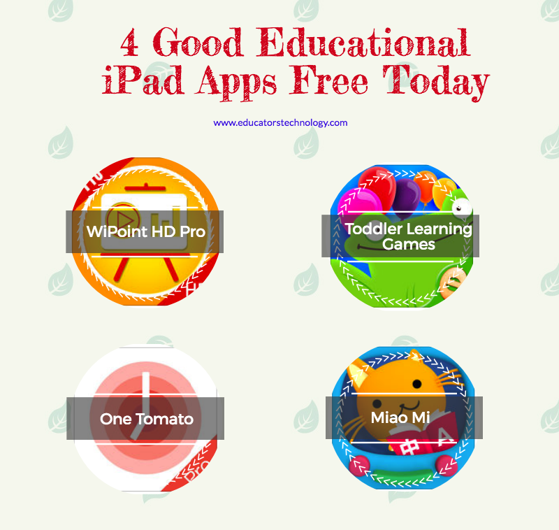 4 Good Educational iPad Apps Free Today