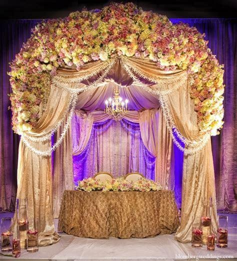 Modern Indian Wedding Mandap Design   Pink Lotus Events