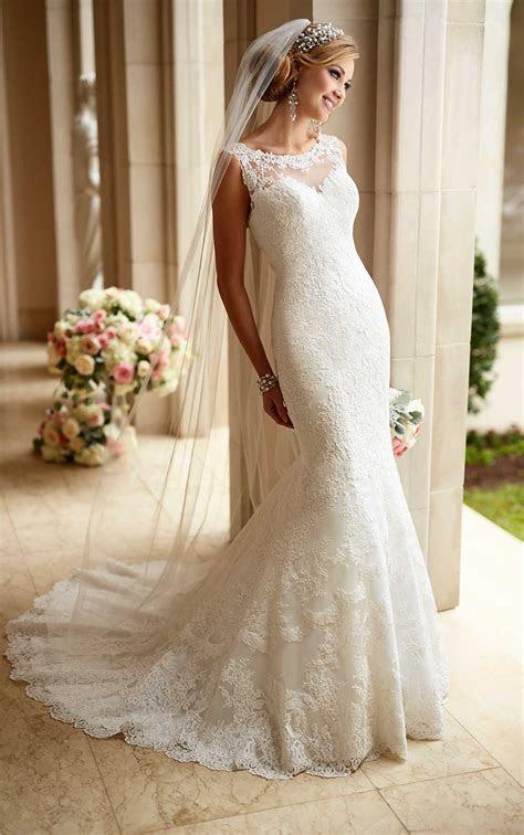 Low Illusion Back Wedding Dresses   Stella York
