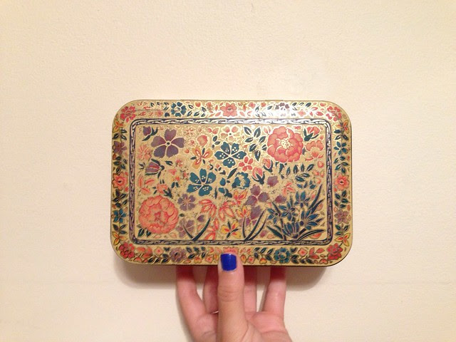 THRIFTED • A Vintage Tin.