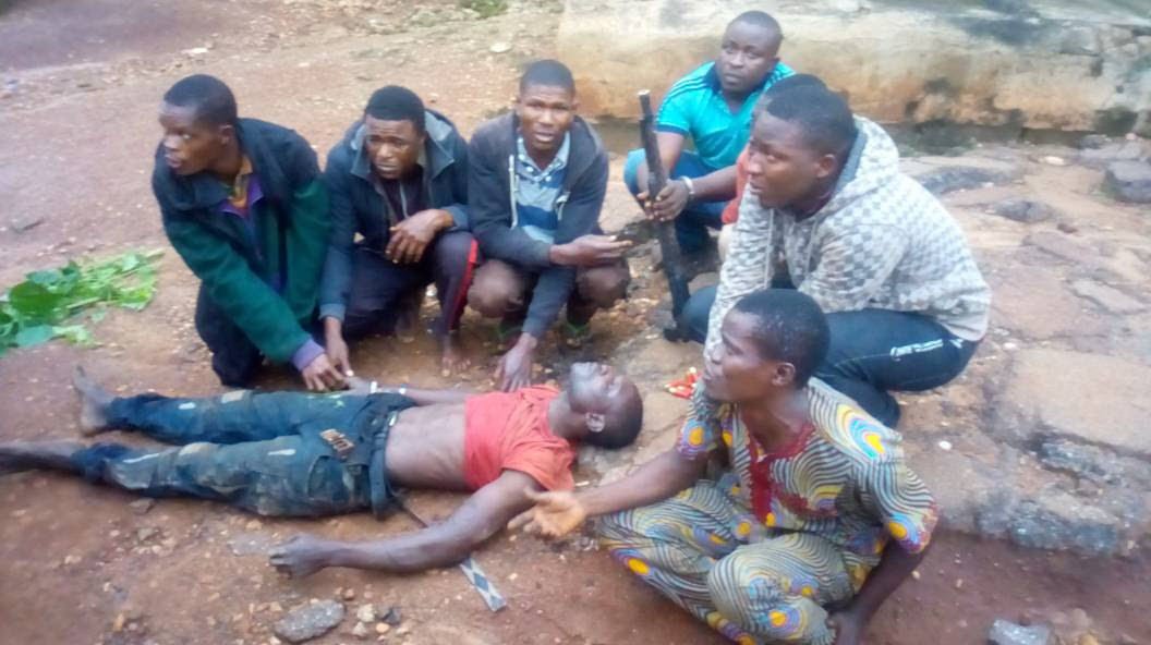 Notorious Political Thug Arrested With Lifeless Body In Ekiti (Pics)