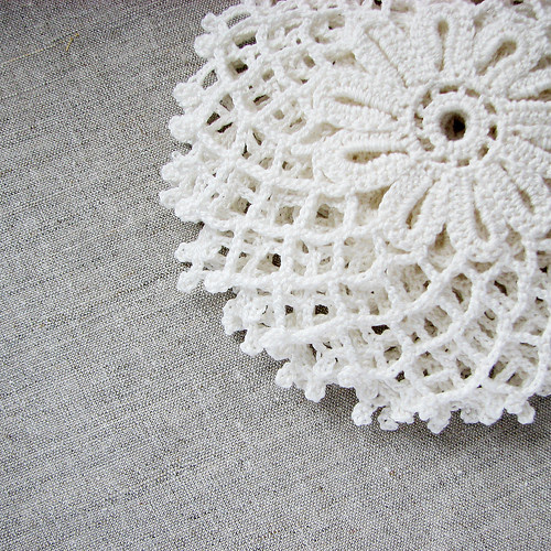 crocheted doilies by Lariata