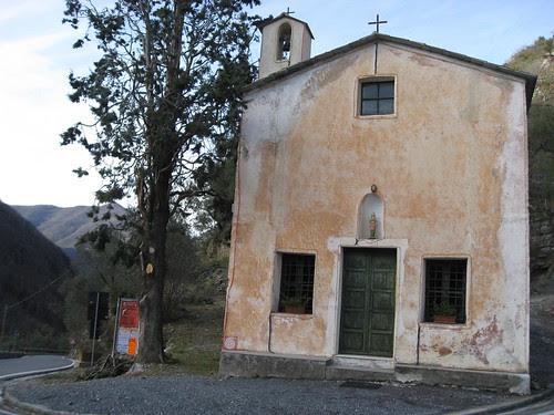 La chiesa di Colletta Alta