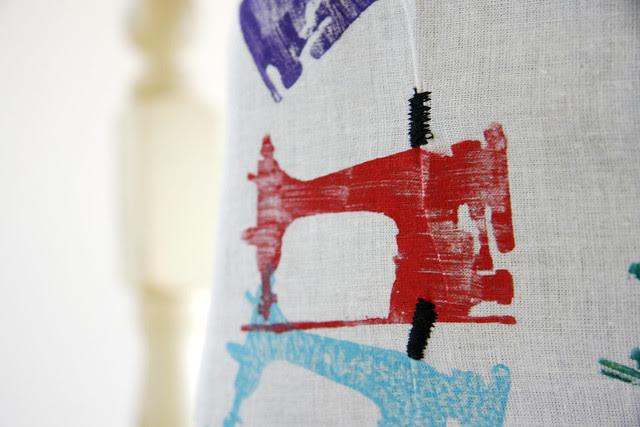 Sewing machine stamp