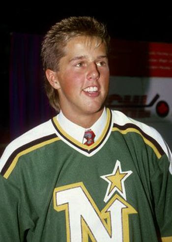 Modano Drafted North Stars