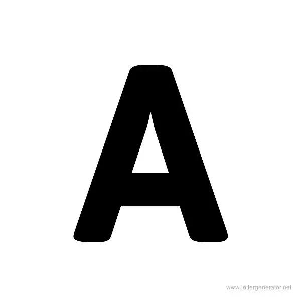 Bold Alphabet Gallery - Free Printable Alphabets   LETTER ...