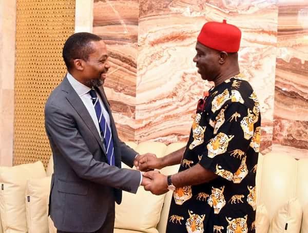 Ike Ekweremadu Meets With President Of International Criminal Court (Photos)