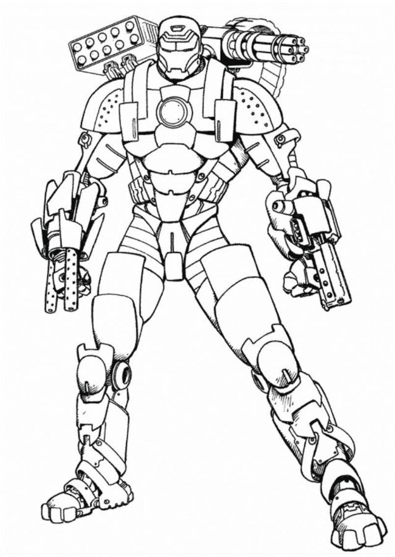 Hulkbuster Coloring Pages at GetDrawings | Free download