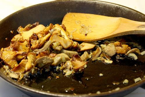 Sauted mushrooms