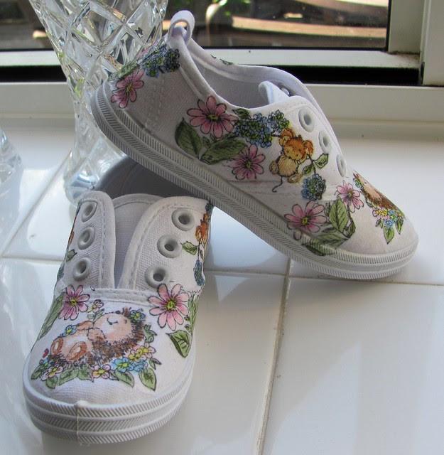 Chelsea's shoes