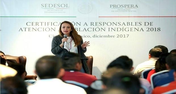 Inali y Propera certifican a personal como responsables de atención indígena
