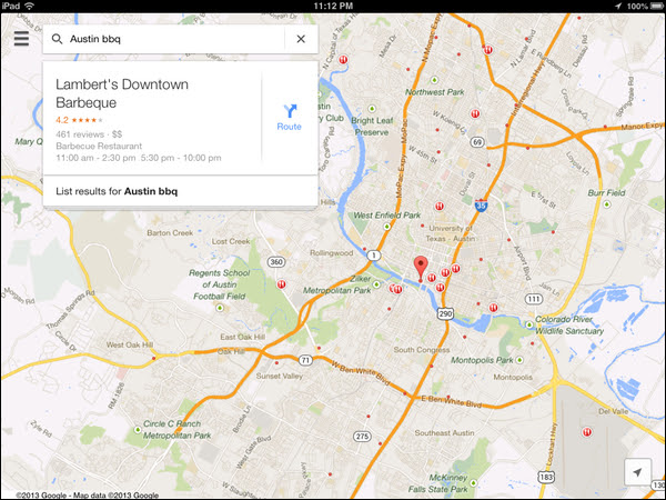 New Google Maps App For Ios Includes Dedicated Ipad