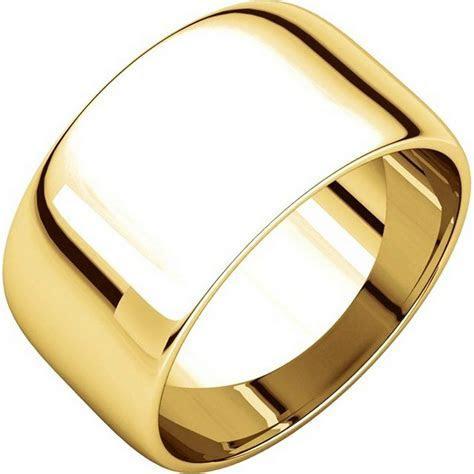 11683110E 18K Gold Plain Wedding Bands