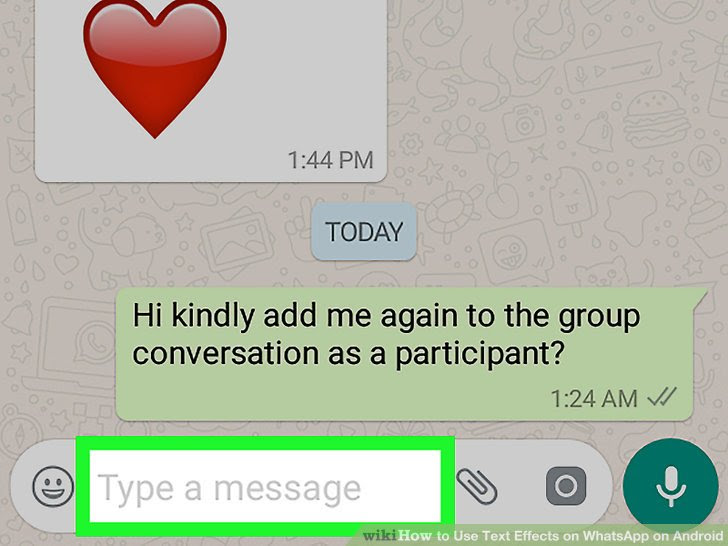 Use Text Effects on WhatsApp on Android Step 3.jpg