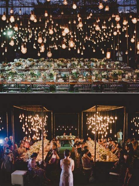 20 Breathtaking Wedding Reception Lighting Ideas You Can