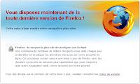 Mise à jour Firefox