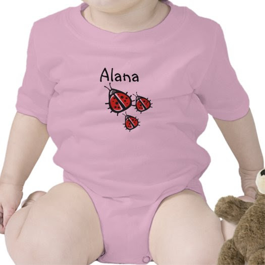 Customized Three Little Ladybug Shirt