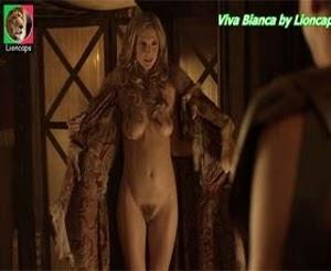 Viva Bianca naked in season 1 of Spartacus