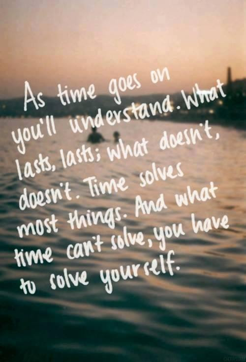 Time Solves Everything Quotes Quotations Sayings 2019