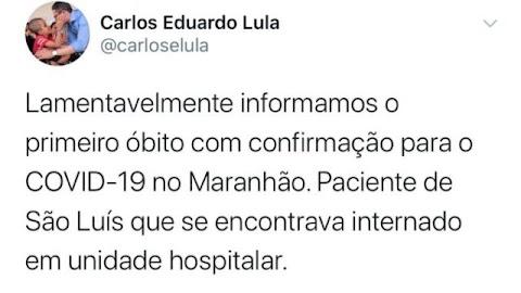 Urgente! Morre a primeira pessoa por coronavírus no Maranhão