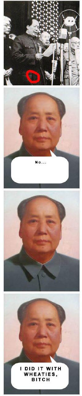 Chairman Mao explains it all 4