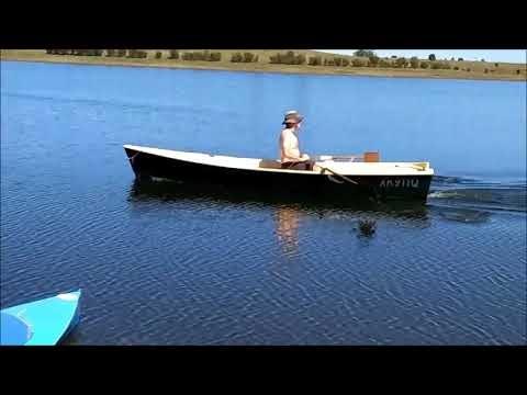 Ross Lillistone Wooden Boats Fleet Under Oar Power Heaven Cruises