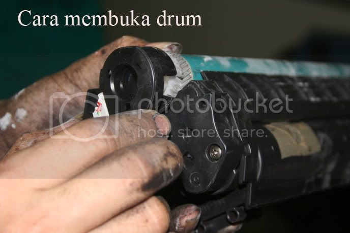 membuka drum