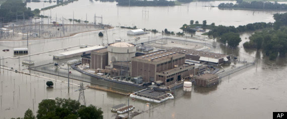 Fort Calhoun Nuclear Flood Nebraska Plant