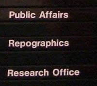 UUJ Signage - Reprographics?